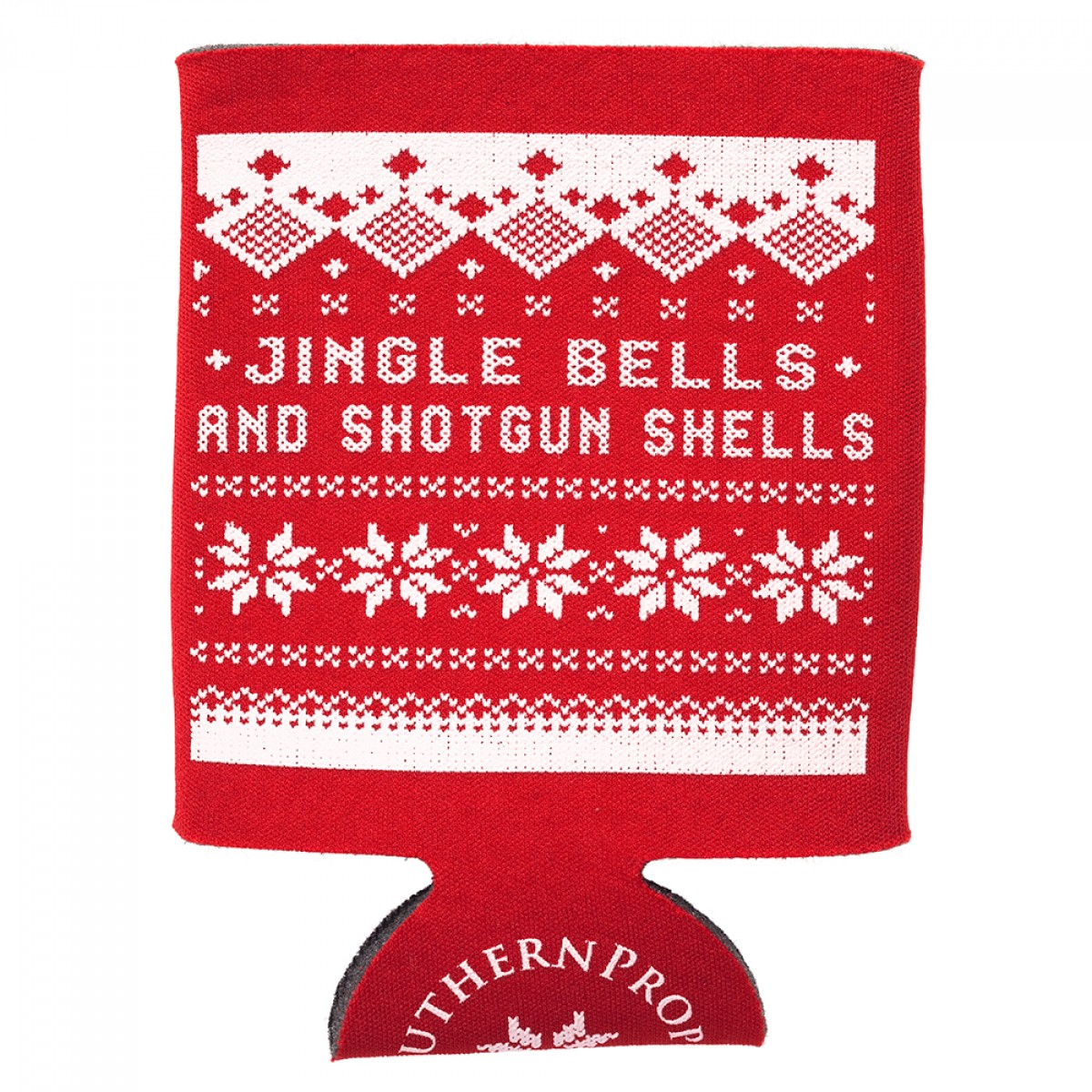 "Red ""Tacky Christmas Sweater"" Coozie"
